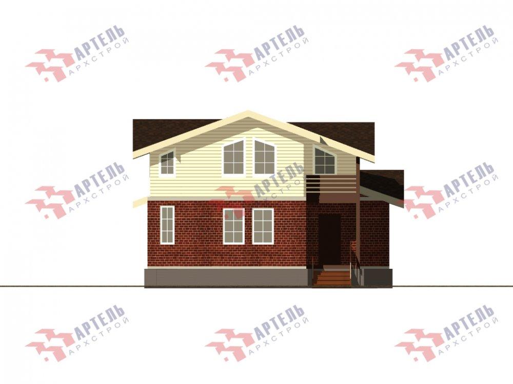 дом омбинированные дома, проект Вариант 15,9К Комбинированный фотография 5581