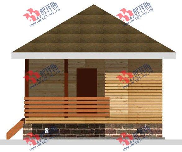 одноэтажный дом из профилированного бруса площадью до 100 кв. м., проект Вариант 6 фотография 2318