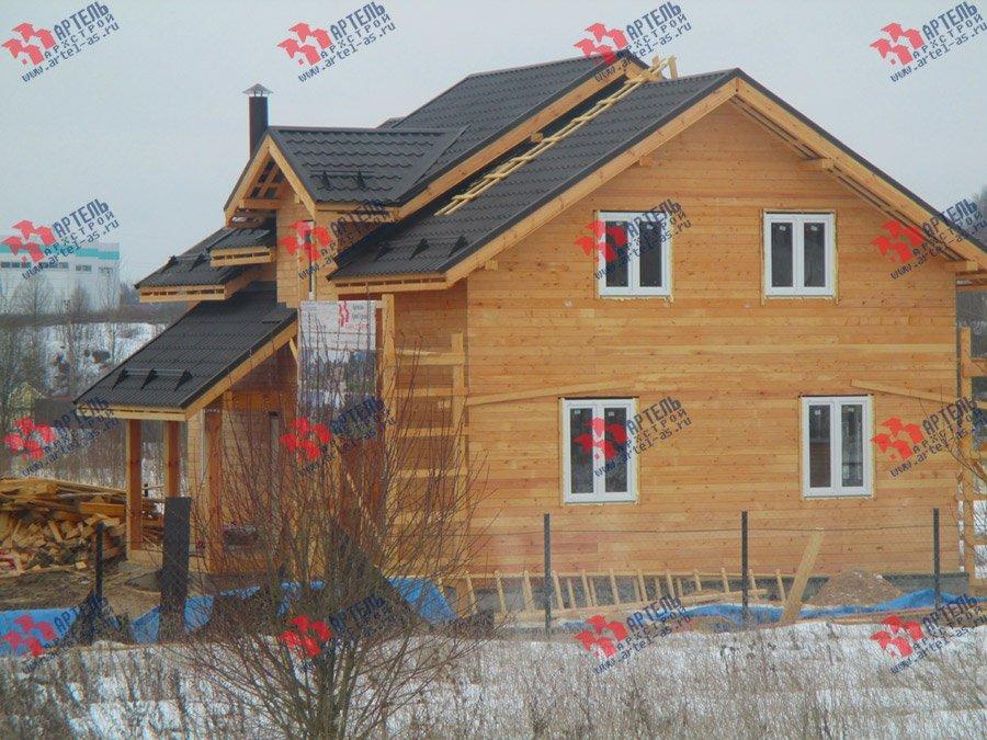 дом из бруса построенный по проекту Вариант 11 Л-2 фотография 3763
