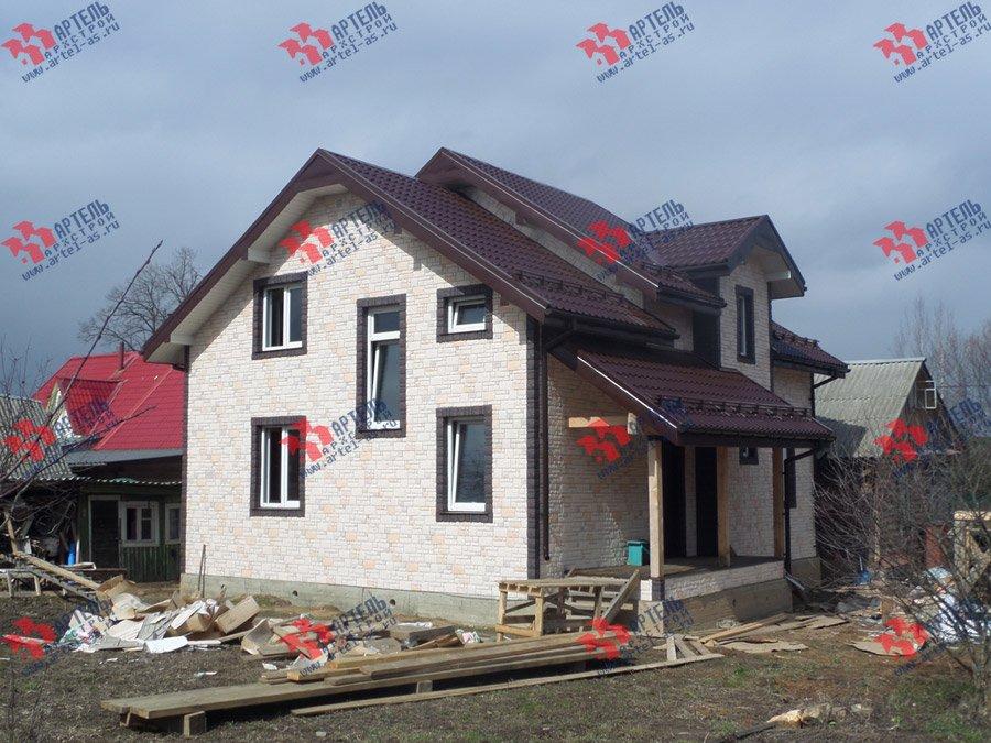 дом из бруса построенный по проекту Вариант 11 Л-2 фотография 3743
