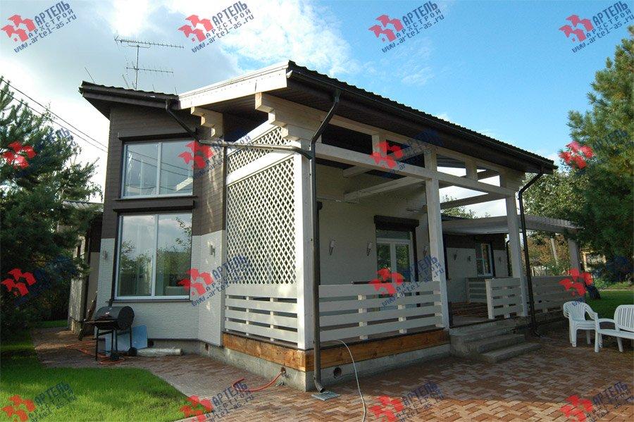 дом из профилированного бруса камерной сушки построенный по проекту Вариант 5 фотография 3738