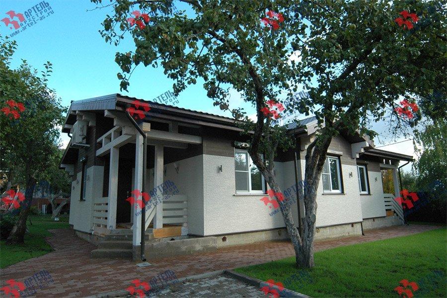 дом из профилированного бруса камерной сушки построенный по проекту Вариант 5 фотография 3739