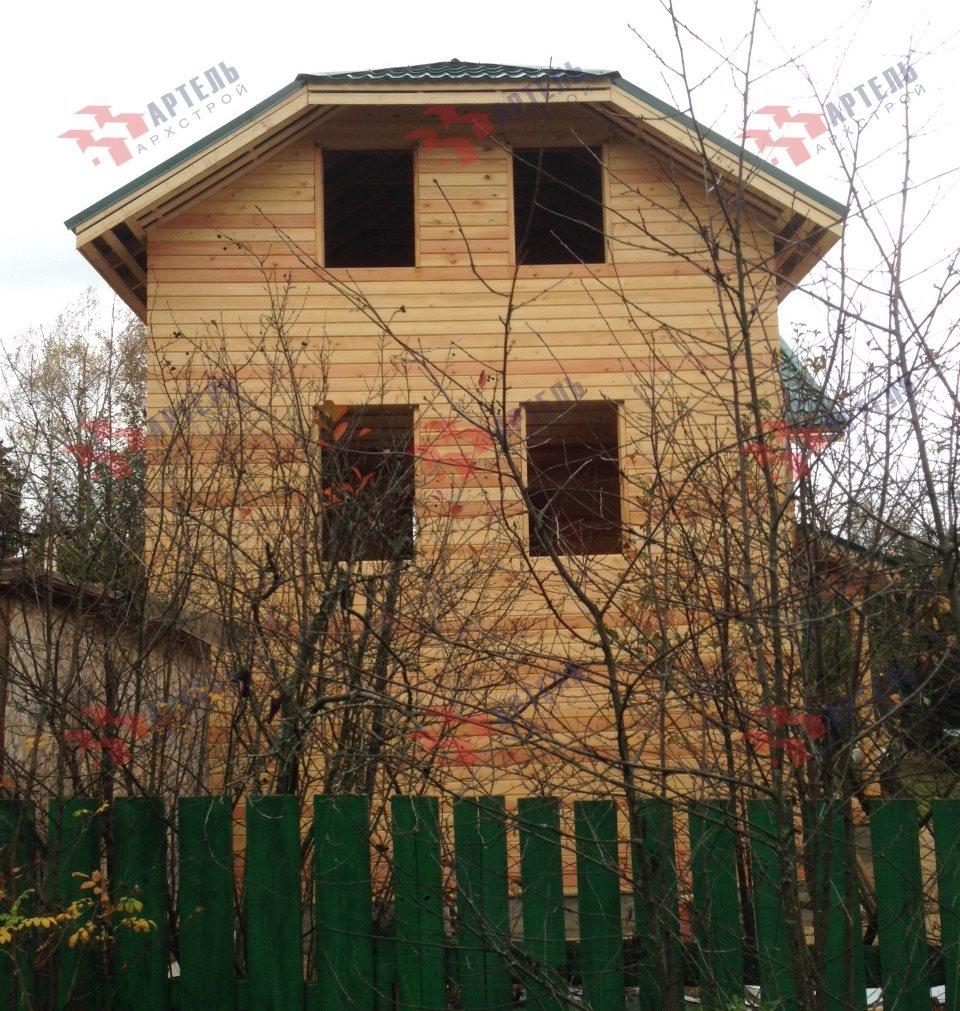 дом из бруса построенный по проекту Вариант 6 М фотография 5183