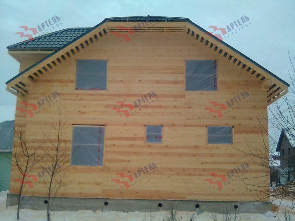 дом из бруса построенный по проекту Вариант 9С фотография 5151