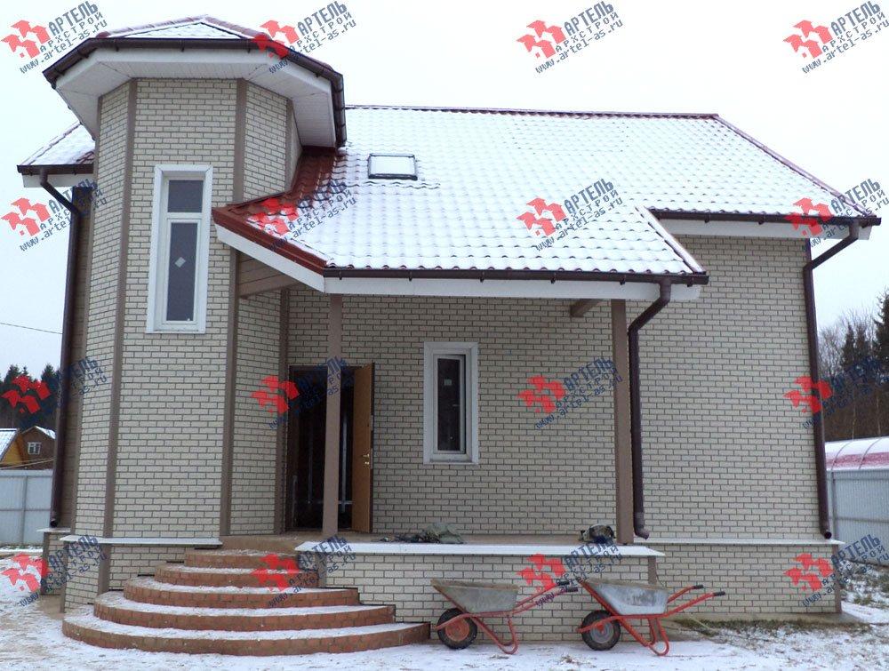 дом из бруса построенный по проекту Вариант 8.8 А фотография 3129