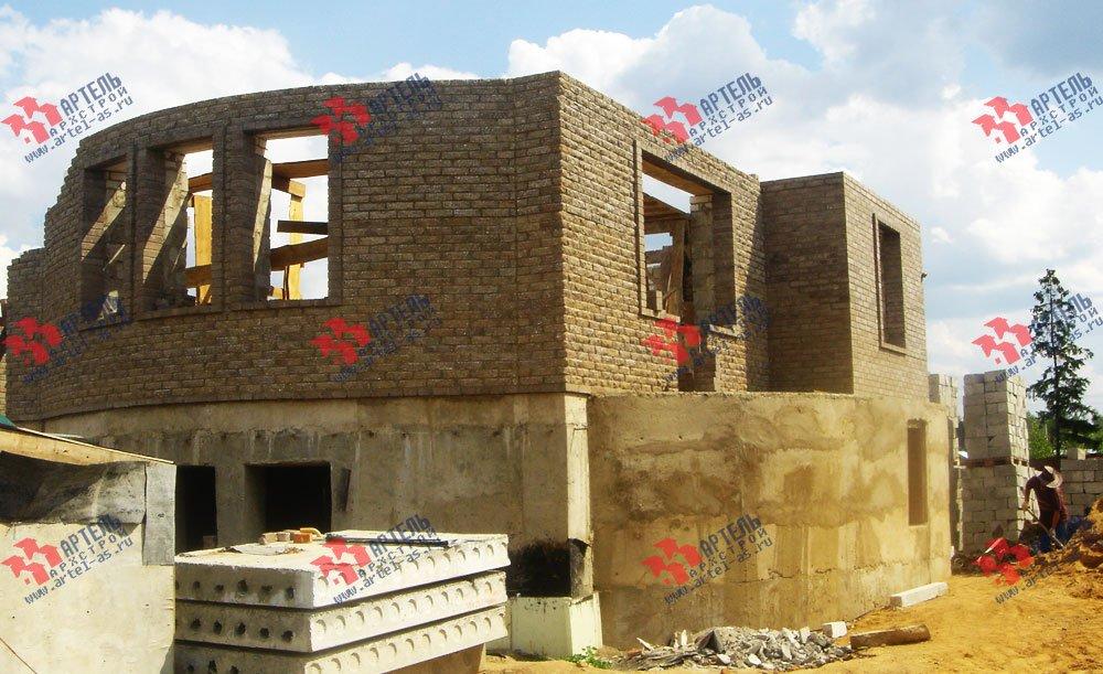 дом из камня построенный по проекту Вариант 3 фотография 1615