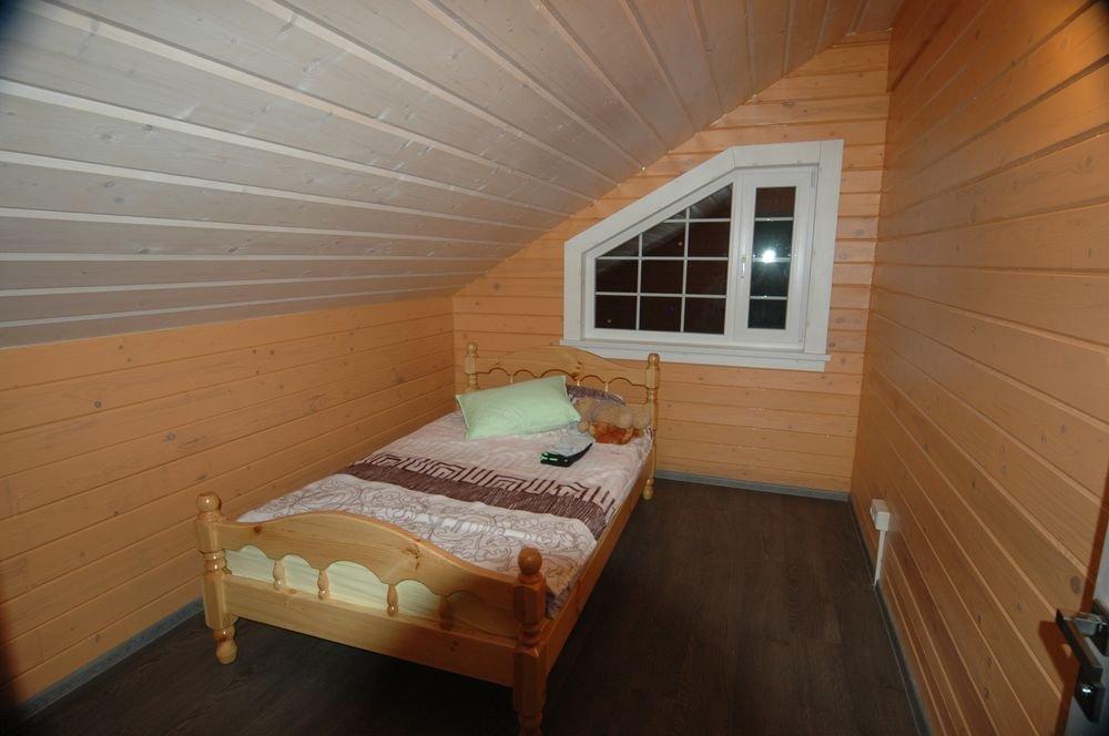 дом из профилированного бруса построенный по проекту Вариант 6 Л фотография 5984