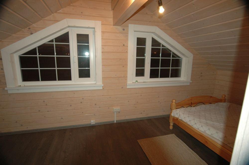 дом из профилированного бруса построенный по проекту Вариант 6 Л фотография 5985