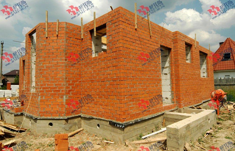 дом из камня построенный по проекту Вариант 25 фотография 3208