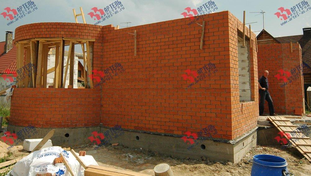 дом из камня построенный по проекту Вариант 25 фотография 3209
