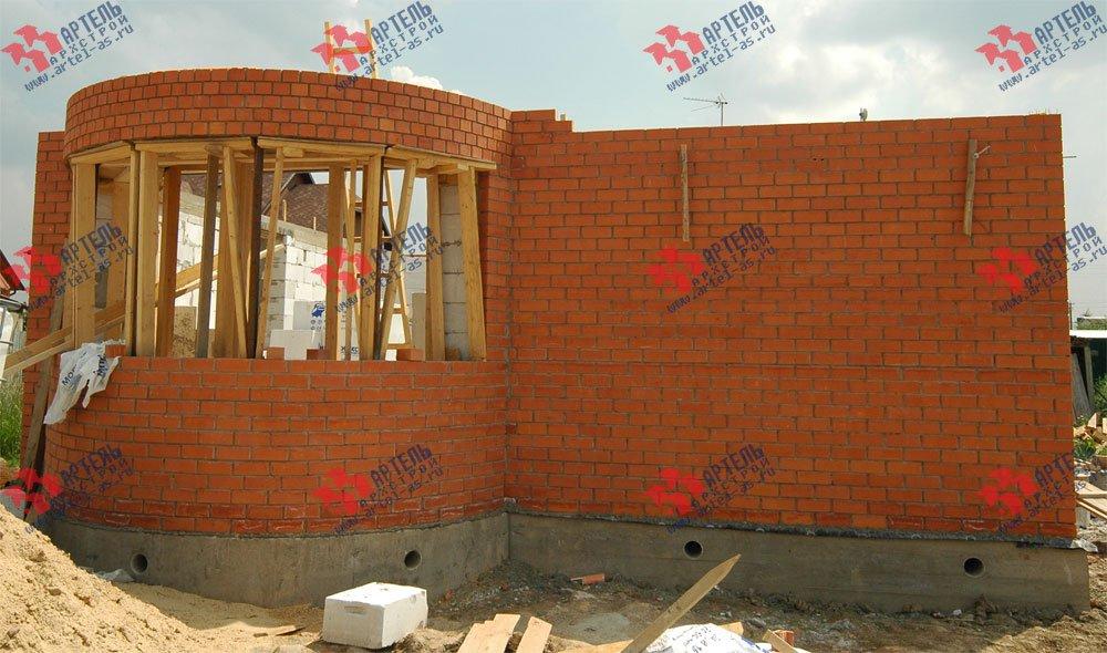 дом из камня построенный по проекту Вариант 25 фотография 3210