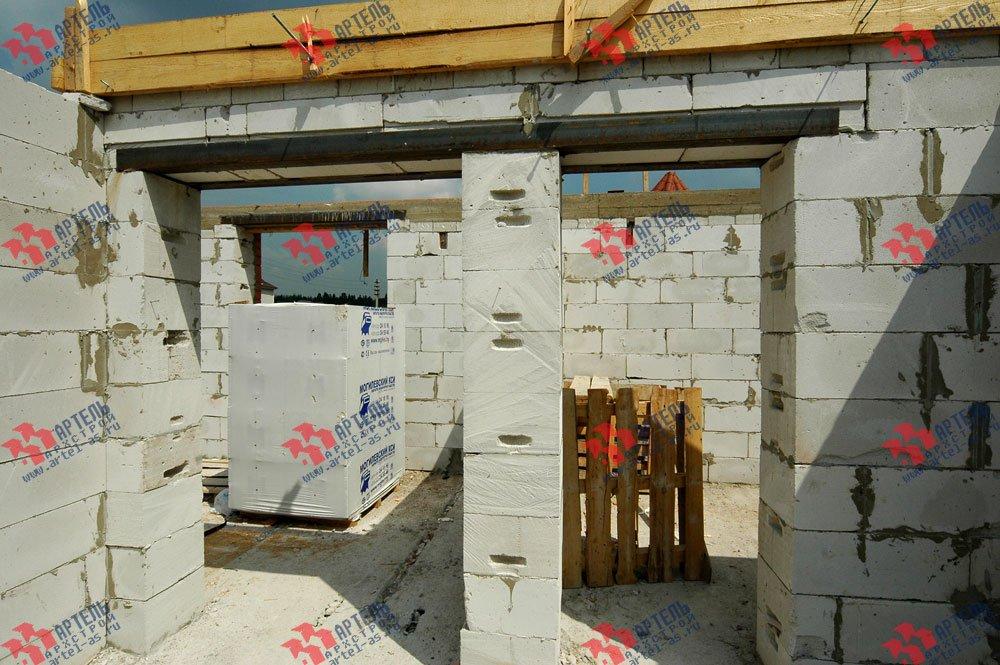 дом из камня построенный по проекту Вариант 25 фотография 3211