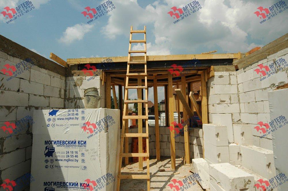 дом из камня построенный по проекту Вариант 25 фотография 3213
