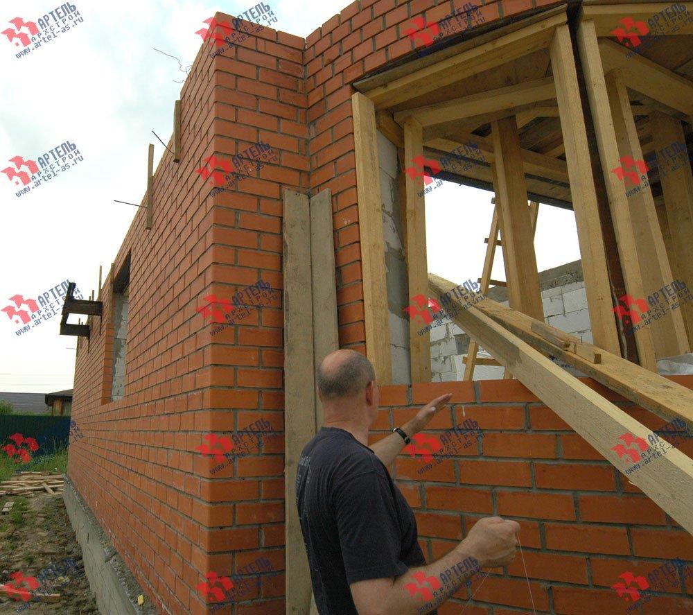 дом из камня построенный по проекту Вариант 25 фотография 3216