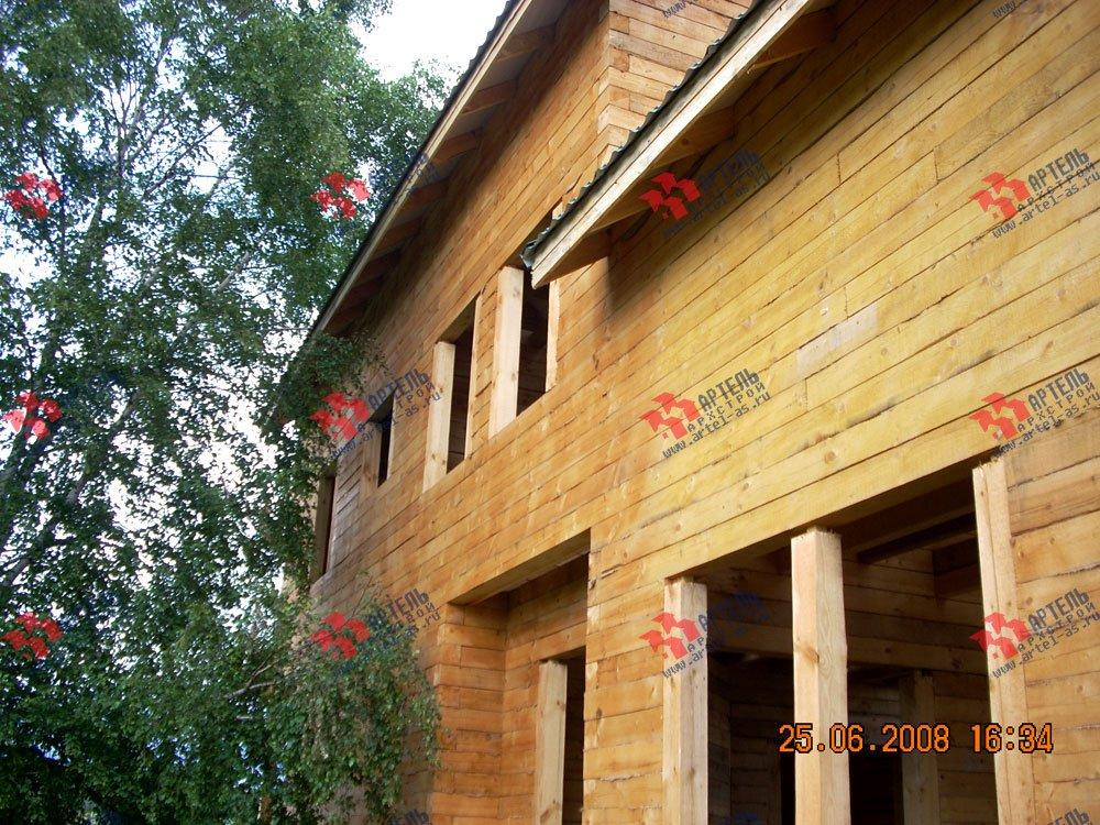 дом из бруса построенный по проекту Вариант 6.3 Н фотография 2307