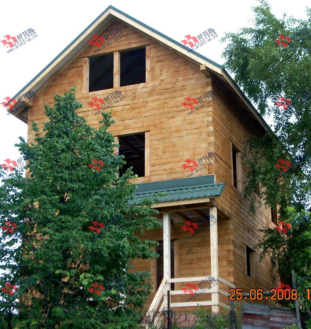 дом из бруса построенный по проекту Вариант 6.3 Н фотография 2311