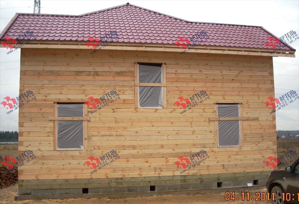 дом из бруса построенный по проекту Вариант 9 Г фотография 2241