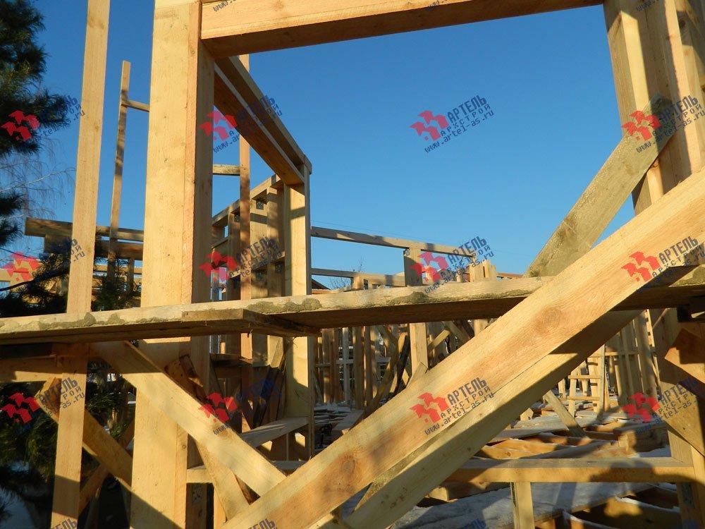 дом из профилированного бруса камерной сушки построенный по проекту Вариант 5 фотография 2904