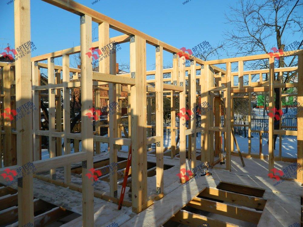 дом из профилированного бруса камерной сушки построенный по проекту Вариант 5 фотография 2908