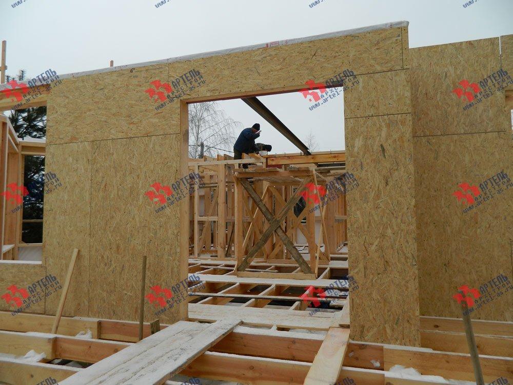 дом из профилированного бруса камерной сушки построенный по проекту Вариант 5 фотография 2957