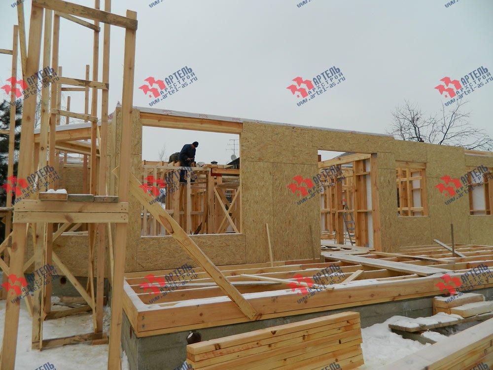 дом из профилированного бруса камерной сушки построенный по проекту Вариант 5 фотография 2958
