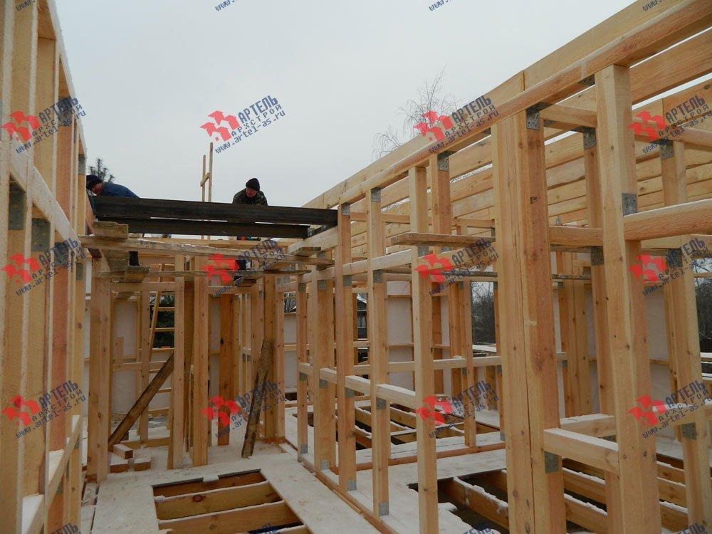 дом из профилированного бруса камерной сушки построенный по проекту Вариант 5 фотография 2964