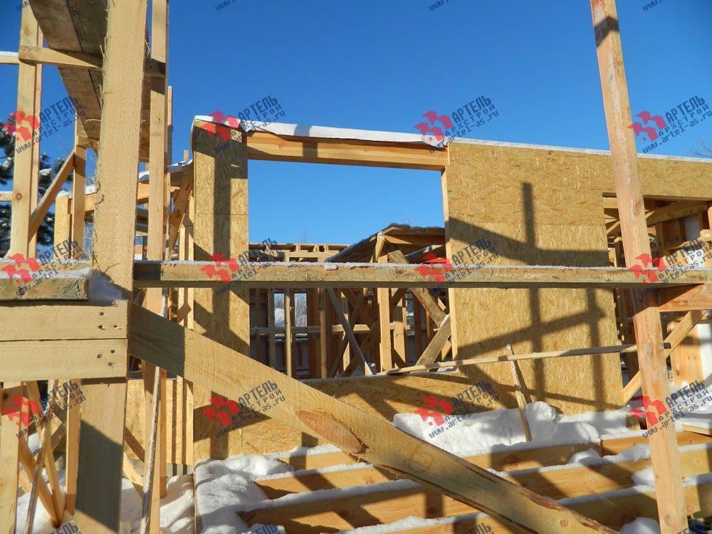 дом из профилированного бруса камерной сушки построенный по проекту Вариант 5 фотография 2967