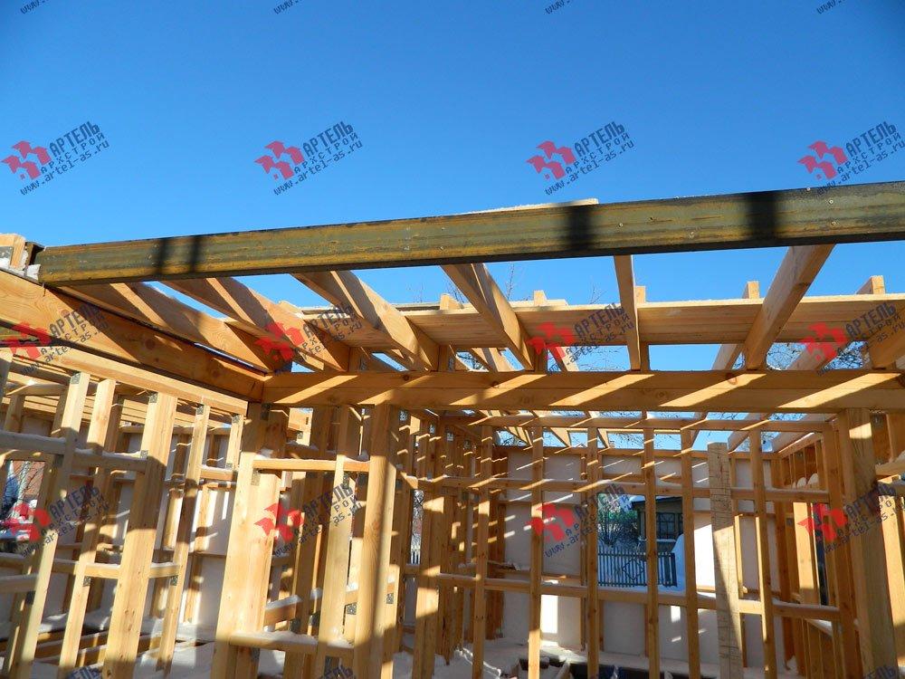 дом из профилированного бруса камерной сушки построенный по проекту Вариант 5 фотография 2970