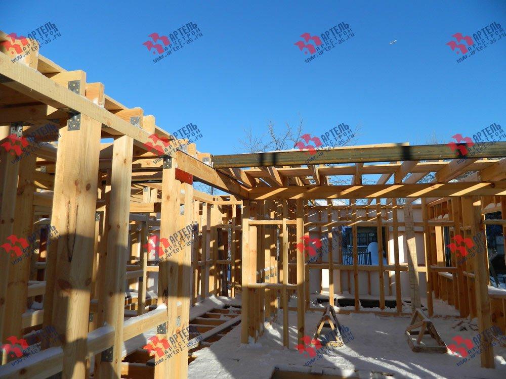 дом из профилированного бруса камерной сушки построенный по проекту Вариант 5 фотография 2971