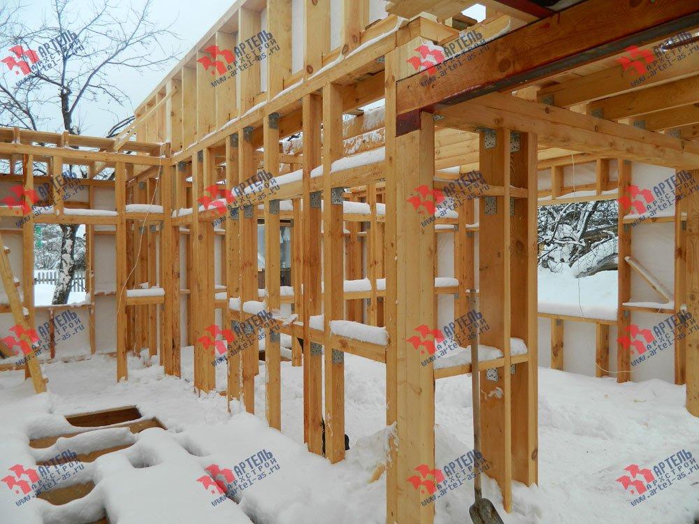 дом из профилированного бруса камерной сушки построенный по проекту Вариант 5 фотография 2976