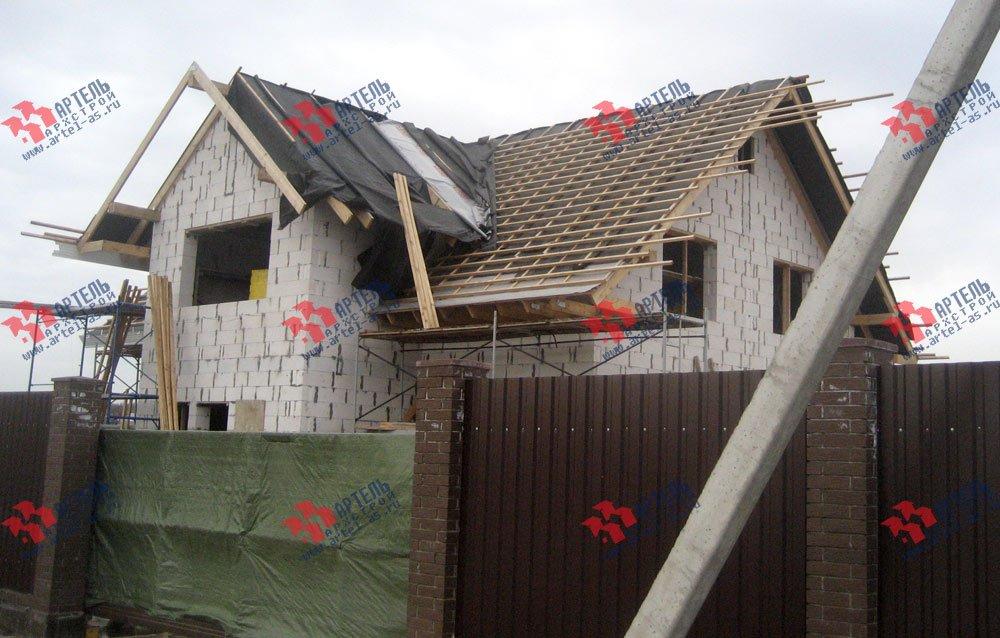 дом из камня построенный по проекту Вариант 22 фотография 2702