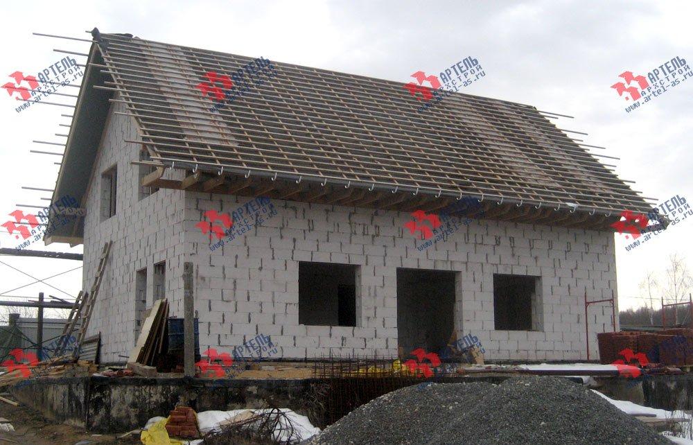 дом из камня построенный по проекту Вариант 22 фотография 2705