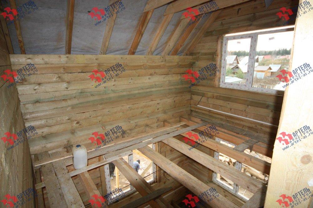 дом из бруса построенный по проекту Вариант 9.3 В фотография 3269