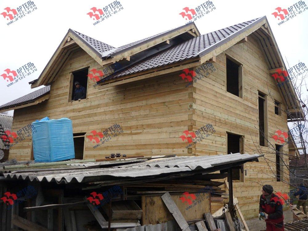 дом из бруса построенный по проекту Вариант 11 Л-2 фотография 3320