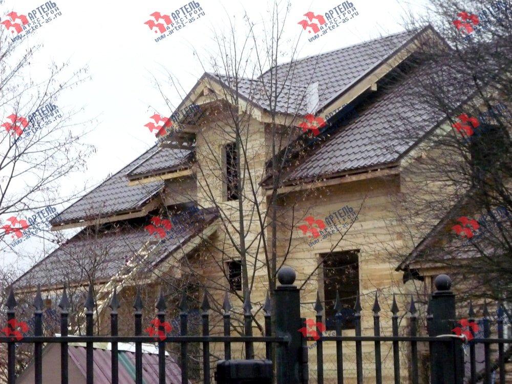 дом из бруса построенный по проекту Вариант 11 Л-2 фотография 3321