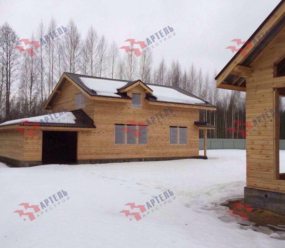 дом из камня построенный по проекту Вариант 26 фотография 5162