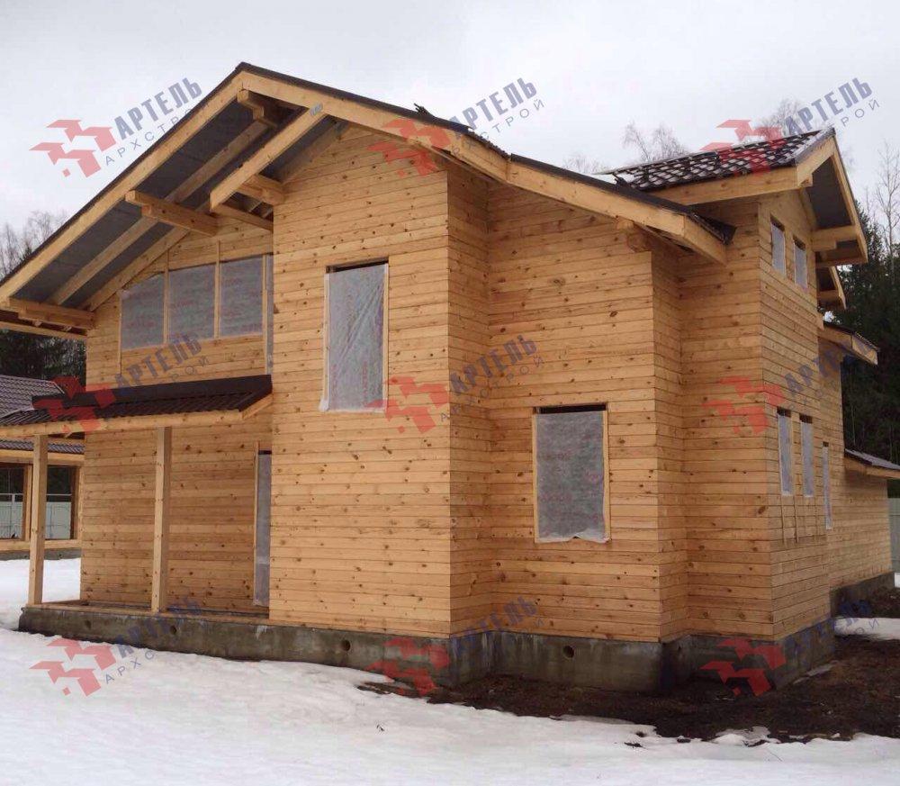 дом из камня построенный по проекту Вариант 26 фотография 5164